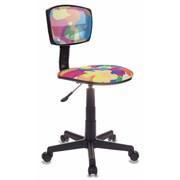 (1014533) Кресло детское Бюрократ CH-299/ABSTRACT спинка сетка мультиколор сиденье мультиколор абстракция