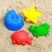 (1015528) Набор для игры в песке №60  (4 формочки )  МИКС 2881450