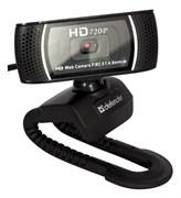 (1006067) Веб-камера Defender G-lens 2597 HD720p 2 МП, автофокус, автослежение