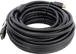 (198023)  Кабель HDMI (M) -> HDMI (M), 15m,  Telecom (CG511D-15M), V1.4b, позолоченные контакты,  2 ферритовых фильтра