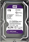"(1011154) Жесткий диск WD Original SATA-III 1Tb WD10PURZ Video Purple (5400rpm) 64Mb 3.5"""