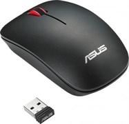 (1011359) Мышь Asus WT300 RF черный оптическая (1600dpi) беспроводная USB2.0 для ноутбука (2but)