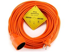 """(1011560) Удлинитель в бухте """"PowerCube"""" 10А/2,2 кВт, 1 розетка, 30м, оранжевый"""