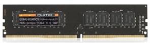 (1011650) Модуль памяти DDR-4  8GB QUMO 2400 MHz PC-19200 512x8 CL16 288P (QUM4U-8G2400C16)