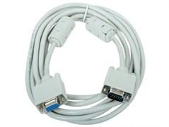 (1011730) Кабель удлинитель VGA Pro Gembird CC-PVGAX-10, 15M/15F, 3.0м, экран, феррит. кольца, пакет