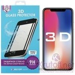 (1011097) Стекло защитное 3D Krutoff Group для iPhone X (white)