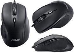 (1012143) Мышь Asus UX300 черный оптическая (1600dpi) USB (5but)