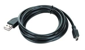 (1012208) Кабель USB 2.0 Pro Cablexpert CCP-USB2-AM5P-6, AM/miniBM 5P, 1.8м, экран, черный, пакет