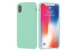 (1012422) Чехол NT силиконовый для iPhone X (mint) 1