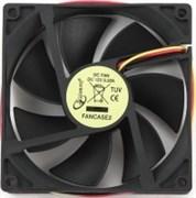 (1012554) Вентилятор Gembird FANCASE2, 90x90x25, втулка, 3 pin, провод 30 см