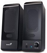 (1012573) Колонки Genius SP-U120, 2.0, 3W, USB-power, 3.5 mm audio stereo jack, volume control, чёрный