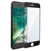 (1012602) Стекло защитное Full Screen Krutoff для iPhone 7 Plus/8 Plus (черное)