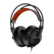 (1012056) Наушники с микрофоном Steelseries Siberia 200 черный 1.8м мониторы (51133)