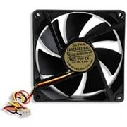 (1013113) Вентилятор Gembird FANCASE2/BALL, 90x90x25, подшипник, 3 pin, провод 30 см