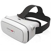 (1013118) Очки виртуальной реальности для смартфона CROWN CMVR-07 white