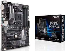(1013364) Материнская плата Asus PRIME B450-PLUS Soc-AM4 AMD B450 4xDDR4 ATX AC`97 8ch(7.1) GbLAN RAID+DVI+HDM