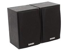 (1013823) Колонки BBK SP-09 2.0 черный 6Вт