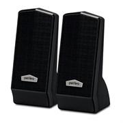 """(1013870) Perfeo колонки """"CURSOR"""" 2.0, мощность 2х3 Вт (RMS), чёрн, USB (PF-601)"""
