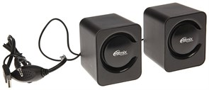 (1013848) Акустическая система 2.0 RITMIX SP-2050 Black (5 Вт., AUX, регулятор громкости, питание USB)
