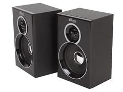 (1013843) Акустическая система 2.0 RITMIX SP-2013w Black (6 Вт., AUX, регулятор громкости, питание USB, деревянный корпус)