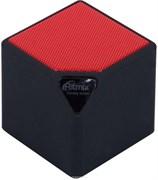 (1013833) Портативная беспроводная колонка RITMIX SP-140B black+red (3 Вт, Bluetooth, FM, USB, microSD, AUX, 300 мАч)