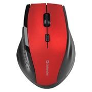 (227637) Беспроводная оптическая мышь Defender Accura MM-365 красная (2.4 ГГц, 4 кнопки,1600 dpi, 2 х АAA)