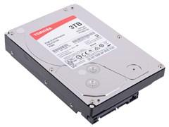 "(1013946) Жесткий диск Toshiba SATA-III 3Tb HDWD130UZSVA P300 (7200rpm) 64Mb 3.5"""