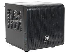 (1013941) Корпус Thermaltake Core V1 черный без БП miniITX 1x200mm 2xUSB3.0 audio bott PSU