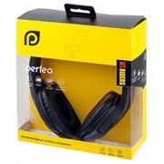 (1013922) Гарнитура Perfeo PF-BT-006 наушники полноразмерные беспроводные с микрофоном RIDERS чёрные