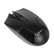 (1013991) Мышь беспроводная Gembird MUSW-240, 2.4ГГц, черный, 5 кнопоки+колесо-кнопка, 1600 DPI, батарейки в комплекте
