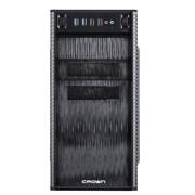 """(1014018) Корпус MiniTower CROWN CMC-403 black mATX (CM-500office) ( Office Тип: Mini Tower  Стандарт МП: Micro ATX Стандарт БП: ATX Размер: 370*185*375 мм; 0,4-0,5 мм SGCC ; Отсеки  5,25"""" внешний 2 шт. 5,25"""" внутренний 3 шт. 3,5"""" внешний 2 шт. 3,5"""""""