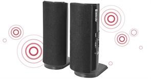 (114372) Акустическая 2.0 система Defender SPK-210 4 Вт, порт для наушников,220 В