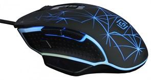 (1014139) Мышь Oklick 935G STARFALL черный оптическая (3200dpi) USB игровая (7but)