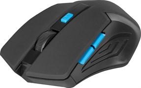 (227629) Мышь беспроводная Defender Accura MM-275, 800-1600 dpi, синяя  (52275)
