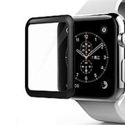 (1014271) Стекло защитное Full Glue 3D для Apple Watch 1/2/3 (42mm)