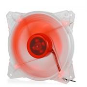 (1014386) Вентилятор для компьютерного корпуса CMCF-12025S-1210 (120*120*25мм, Красный 4LED, 1500 об/мин, 35CFM, 20Дб, Подшипник скольжения, 3pin+MOLEX(папа-мама) 40+10см)