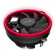 (1014380) Кулер CROWN для процессора CM-1150PWM RED (Сокет AM4 Ready, 115X, 775, TDP до 115 Ватт, коннектор 4pin PWM, Красная подсветка, Размер: 126(L)*126(W)*70(H)мм)