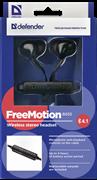 (1014773) Гарнитура Bluetooth FREEMOTION B655 BLACK 63655 DEFENDER