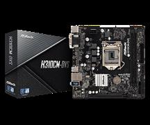 (1014759) Материнская плата Asrock H310CM-DVS Soc-1151v2 Intel H310C 2xDDR4 mATX AC`97 8ch(7.1) GbLAN+VGA+DVI