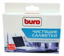 (1014840) Салфетки Buro BU-W/D универсальные коробка 5шт влажных + 5шт сухих