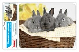 (1014834) Коврик для мыши Buro BU-M40092 рисунок/кролики