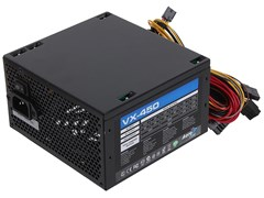 (1015309) Блок питания Aerocool ATX 450W VX PLUS 450W (24+4+4pin) 120mm fan 2xSATA RTL