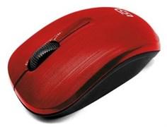 (1015304) Мышь Oklick 525MW красный оптическая (1000dpi) беспроводная USB (2but)