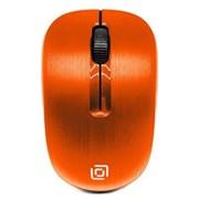 (1015303) Мышь Oklick 525MW оранжевый оптическая (1000dpi) беспроводная USB (2but)
