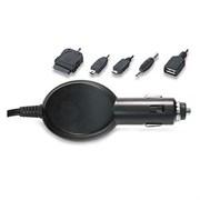 (8880221) Адаптер/ блок питания Robiton Multimedia 1000/ ROUTE  BL1 (40) (5 насадок: Micro USB, Mini USB, USB гнездо Female, телефоны Nokia, iPod / iPhone)