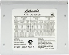 (m80255) Блок питания LINKWORLD LW2-350W (LPE), 350Вт, 80мм, retail