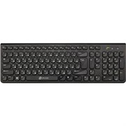 (1014467) Клавиатура Oklick 880S черный USB беспроводная slim Multimedia