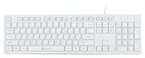 (1014704) Клавиатура Oklick 400MR черный USB slim Multimedia