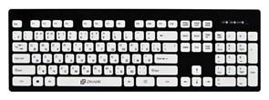 (1014462) Клавиатура Oklick 580M черный USB slim