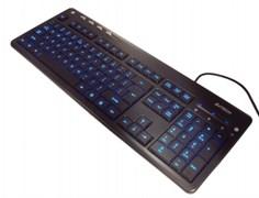 (1014461) Клавиатура A4 KD-126-2 черный USB slim Multimedia LED